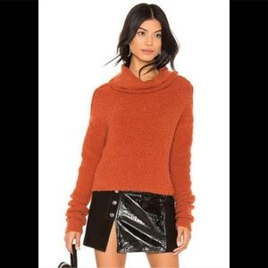 Free People Terracotta Sweater Pullover